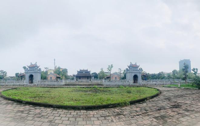 Công trình Văn Miếu gần 80 tỉ ở Hà Tĩnh xây xong không có đường vào - Ảnh 2.