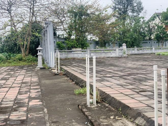 Công trình Văn Miếu gần 80 tỉ ở Hà Tĩnh xây xong không có đường vào - Ảnh 6.