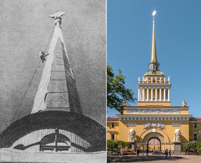 Giữa mưa bom, Liên Xô phô diễn kĩ năng ngụy trang đỉnh cao cho những người hùng chọc trời ở Leningrad - Ảnh 1.
