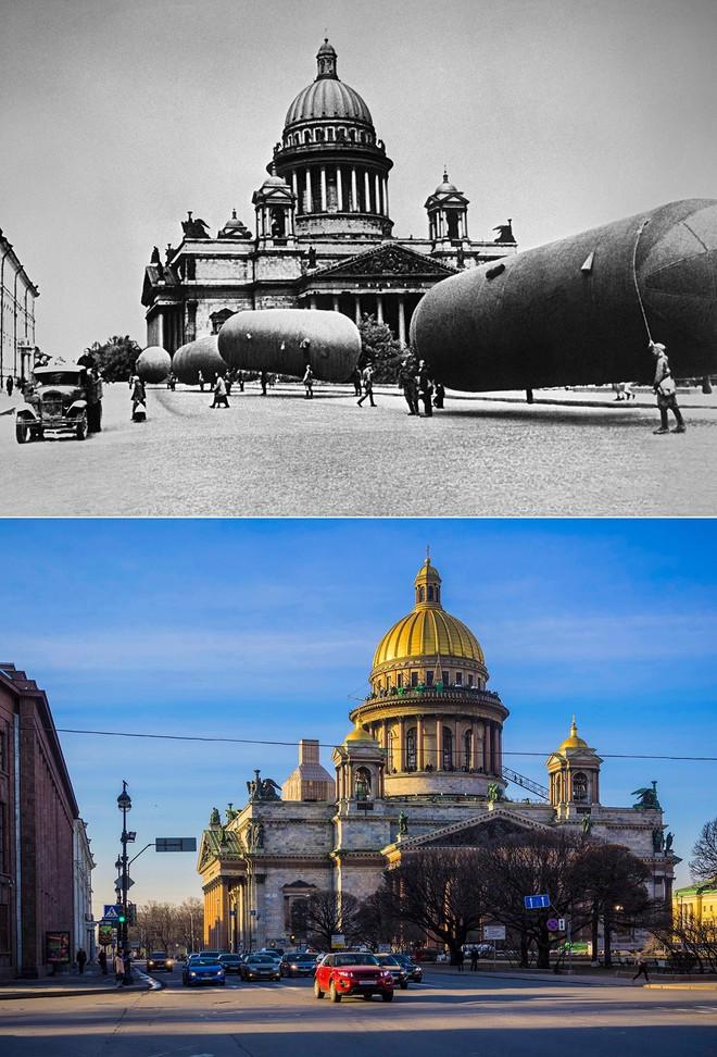 Giữa mưa bom, Liên Xô phô diễn kĩ năng ngụy trang đỉnh cao cho những người hùng chọc trời ở Leningrad - Ảnh 3.