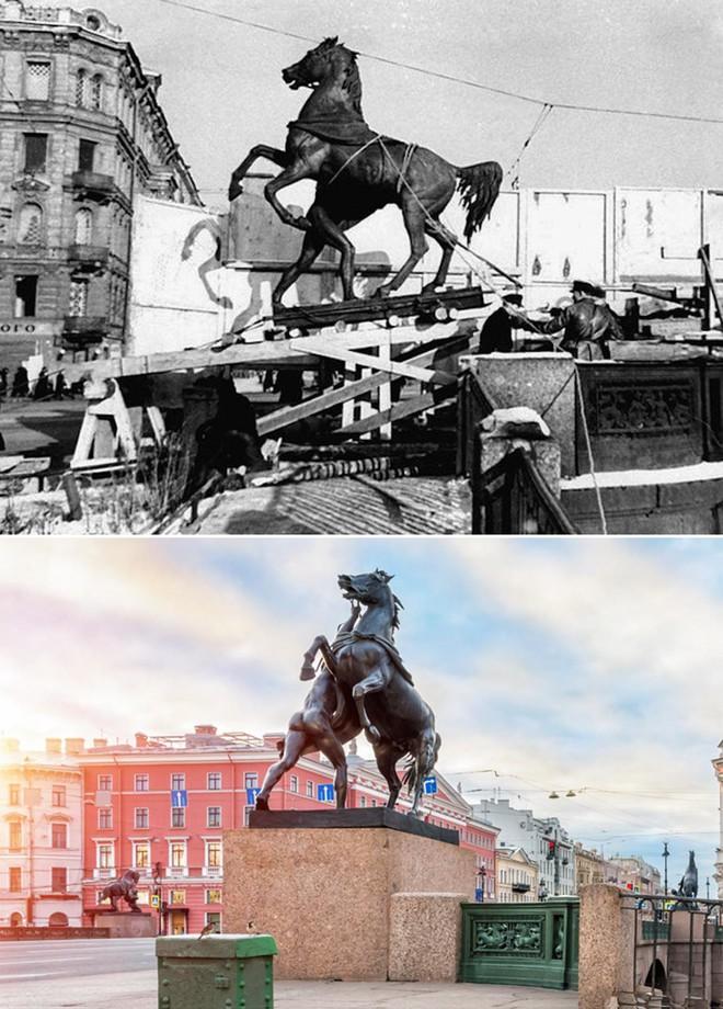 Giữa mưa bom, Liên Xô phô diễn kĩ năng ngụy trang đỉnh cao cho những người hùng chọc trời ở Leningrad - Ảnh 9.