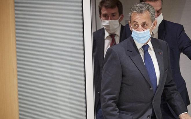 Cựu Tổng thống Pháp Nicolas Sarkozy nhận án tù