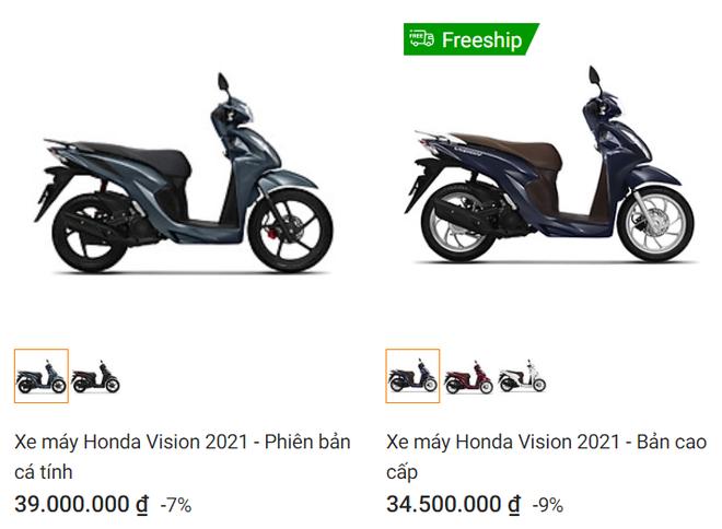 Giá xe Honda Vision tháng 3 gây bất ngờ, thời điểm vàng mua xe đã đến? - Ảnh 1.