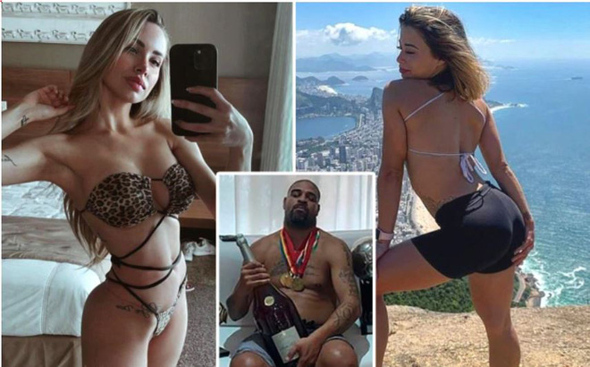 """""""Hoàng đế"""" Adriano bị phát hiện """"đá cặp"""" với hai người tình cũ cùng lúc"""