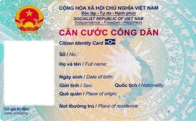 Những ai được miễn phí khi đi làm thẻ căn cước công dân gắn chip? 12 số trên thẻ có ý nghĩa gì?