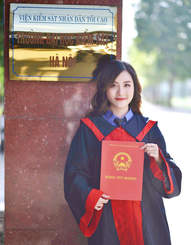 """Nữ thủ khoa ĐH Kiểm sát Hà Nội khoe nhan sắc đỉnh cao cùng bảng thành tích """"khủng"""" - Ảnh 6."""
