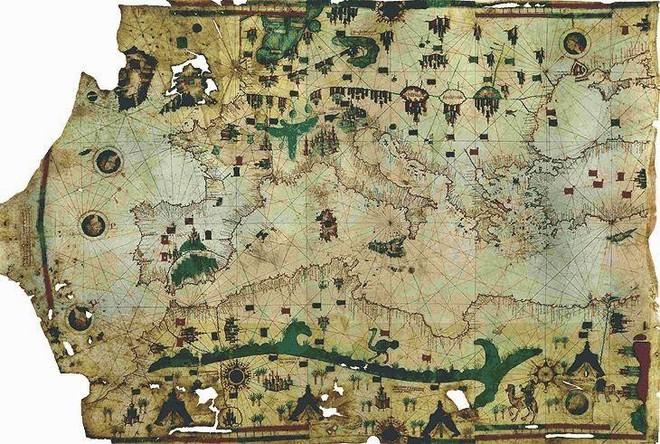 Thời cổ đại không có vệ tinh, bản đồ được vẽ như thế nào? 002