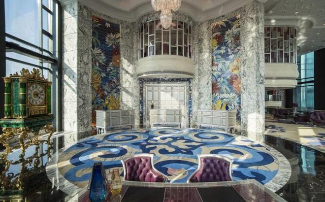 Phòng Tổng thống tại khách sạn The Reverie Sài Gòn có giá thuê một đêm là 15.000 USD (khoảng 340 triệu đồng, chưa bao gồm VAT). Đây được coi là căn phòng đắt giá nhất Việt Nam. Ảnh: Khách sạn The Reverie Sài Gòn