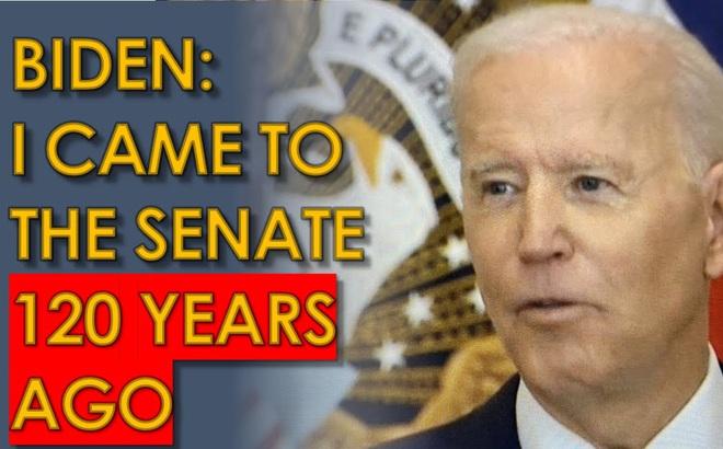 """Ông Biden lại gây bão: """"Tôi gia nhập Thượng viện từ 120 năm trước"""" - Rốt cuộc TT Mỹ bao nhiêu tuổi?"""
