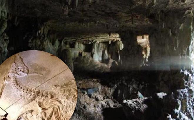 Lạc vào hang động bí ẩn trên núi, người nông dân bất ngờ tìm ra 'hóa thạch rồng' dài hơn 7m: Chân tướng ra sao?