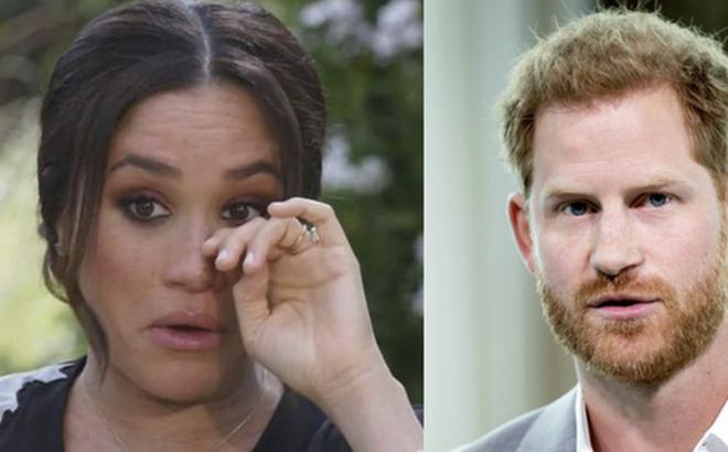 """Dư luận lại dậy sóng trước phản ứng """"ngây thơ vô số tội"""" của nhà Meghan hậu phỏng vấn 'dội bom lên hoàng gia', Harry nhận kết cục đắng ngắt"""
