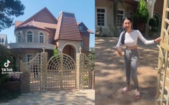 """Người đẹp Phạm Thư sở hữu """"biệt thự nhìn như lâu đài trong truyện cổ tích""""?"""