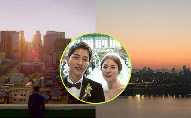 Song Joong Ki - Song Hye Kyo cùng đăng ảnh giống nhau đến bất ngờ, quay lại sau 2 năm ly hôn hay gì?