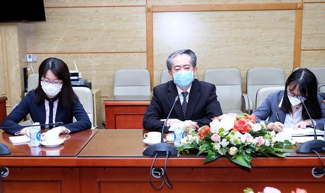 Bộ trưởng Nguyễn Thanh Long đề nghị Trung Quốc hỗ trợ vắc xin Covid-19 cho Việt Nam - Ảnh 1.