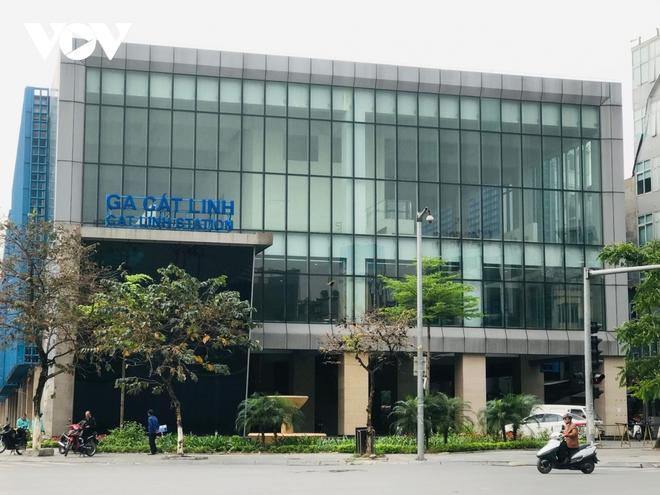 Bộ GTVT kiểm tra hiện trường các hạng mục đường sắt Cát Linh - Hà Đông - Ảnh 1.