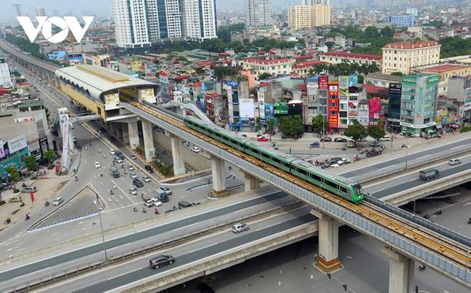 Bộ GTVT kiểm tra hiện trường các hạng mục đường sắt Cát Linh - Hà Đông - Ảnh 3.