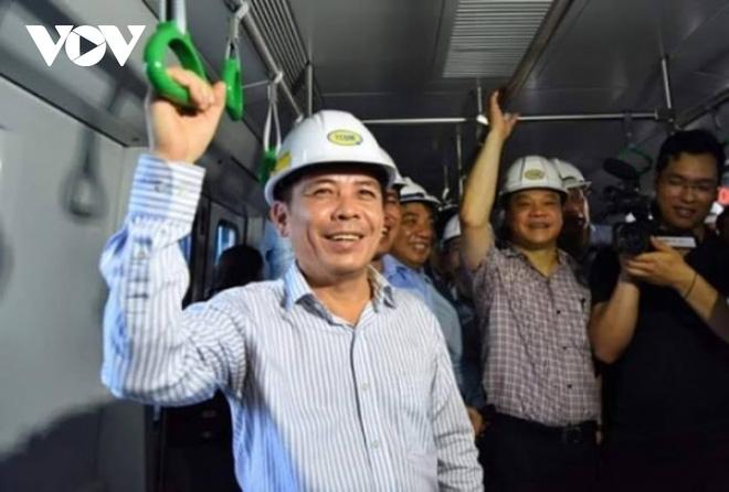Bộ GTVT kiểm tra hiện trường các hạng mục đường sắt Cát Linh - Hà Đông - Ảnh 4.