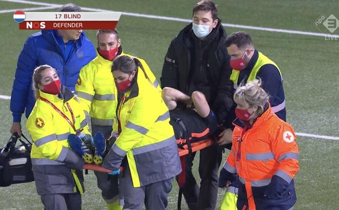 Cựu sao MU dính chấn thương khủng khiếp trong trận Hà Lan thắng đậm Gibraltar