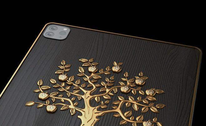 Cận cảnh iPad gắn 1 kg vàng, 81 viên kim cương có giá hơn 4,2 tỷ đồng - Ảnh 1.