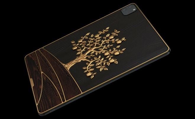 Cận cảnh iPad gắn 1 kg vàng, 81 viên kim cương có giá hơn 4,2 tỷ đồng - Ảnh 2.