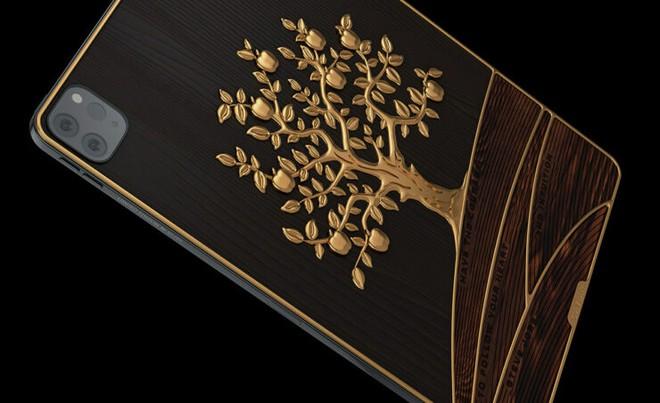 Cận cảnh iPad gắn 1 kg vàng, 81 viên kim cương có giá hơn 4,2 tỷ đồng - Ảnh 3.