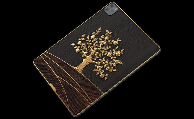 Cận cảnh iPad gắn 1 kg vàng, 81 viên kim cương có giá hơn 4,2 tỷ đồng - Ảnh 5.