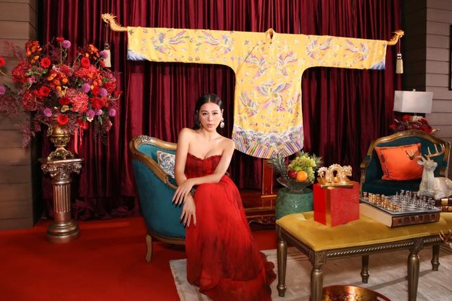 Thời trang thảm đỏ hút mắt của Nam Thư - Ảnh 11.
