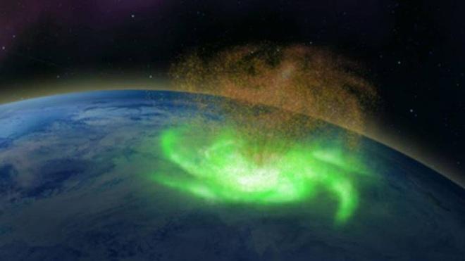 Siêu bão bí ẩn từ vũ trụ đi vào khí quyển Trái Đất - Ảnh 1.