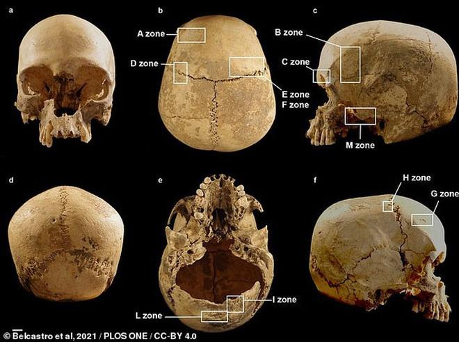 Bí ẩn hài cốt cô gái 5.400 tuổi gắn vào vách hang động - Ảnh 2.