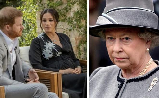 """Đỉnh điểm cuộc chiến Hoàng gia: Meghan Markle tức giận tố Hoàng gia Anh """"dối trá"""", Harry ngồi cạnh im lặng khiến dư luận dậy sóng"""