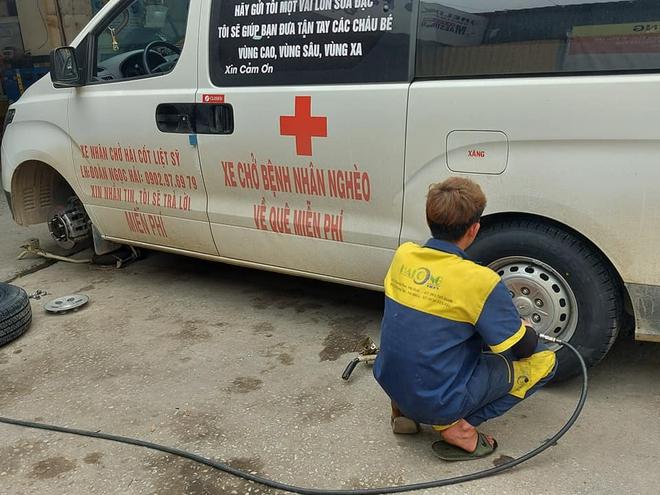 Tiếp tục xuất hiện đại gia thay lốp miễn phí cho xe của ông Đoàn Ngọc Hải - Ảnh 3.