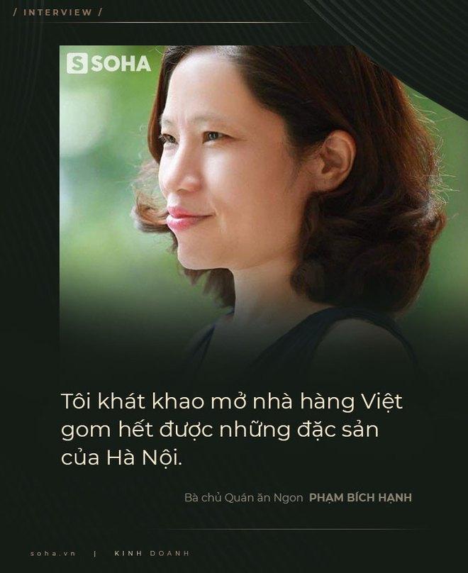 Bà chủ Quán ăn Ngon: Coi khách hàng là thượng đế - vì tiền phải chiều, là quan điểm cổ rồi - Ảnh 2.