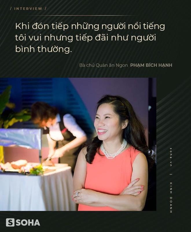 Bà chủ Quán ăn Ngon: Coi khách hàng là thượng đế - vì tiền phải chiều, là quan điểm cổ rồi - Ảnh 6.