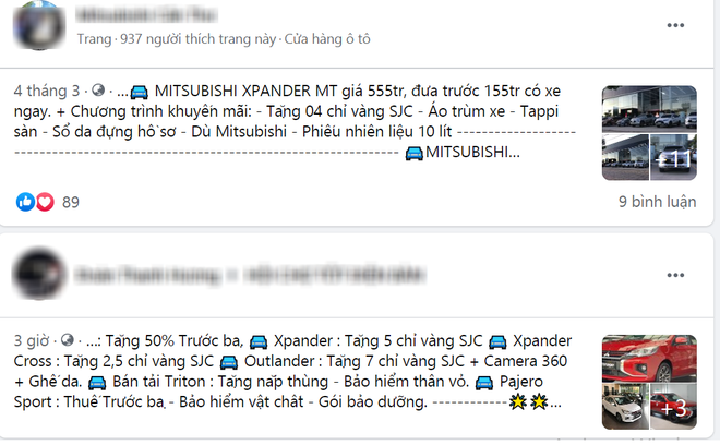 Chán tặng tiền, đại lý tặng khách mua Xpander, Outlander món quà bất ngờ - Ảnh 1.
