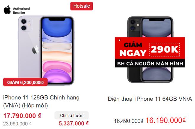 """Giá iPhone 11 giảm xuống dưới 12 triệu đồng, hàng chưa đập hộp """"bay"""" 6 triệu - Ảnh 2."""