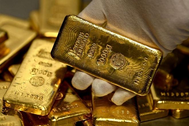 Giá vàng bất ngờ tăng mạnh trở lại - Ảnh 1.