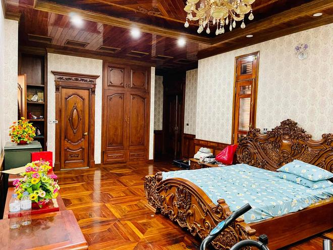 Choáng ngợp biệt thự rộng cả nghìn m2, phủ gỗ Lào từ đầu đến chân của đại gia Bắc Ninh - Ảnh 6.