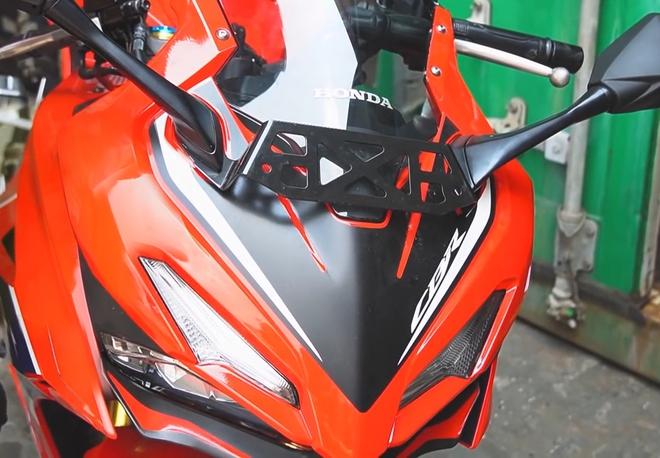 Cận cảnh Honda CBR150R 2021 quái thú đầu tiên về Việt Nam, thừa sức cân Yamaha R15 - Ảnh 2.