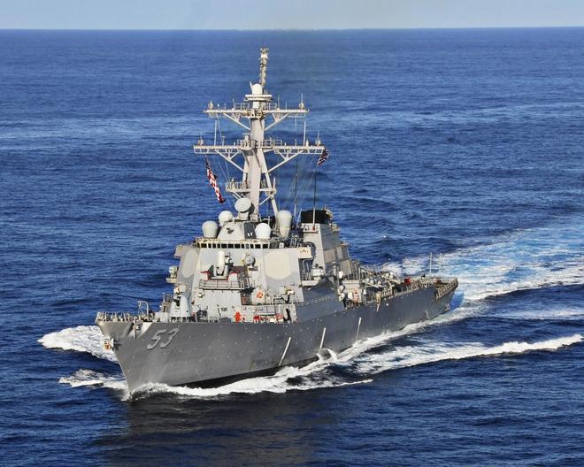 Tàu khu trục Mỹ mang vũ khí tận răng xông vào vùng biển Ấn Độ: Vụ tên lửa S-400 đã đến hồi gay cấn? - Ảnh 2.