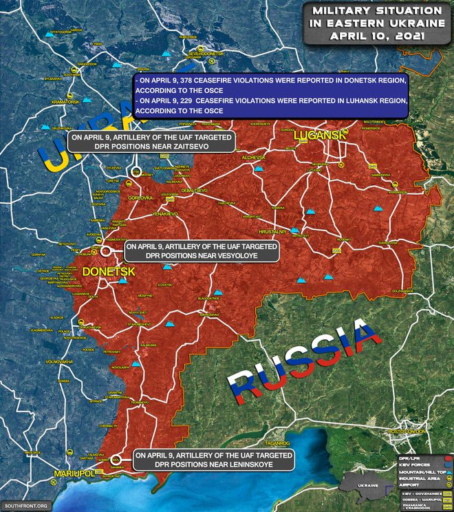 Tình hình Donbass căng thẳng: Mỹ nắn gân Nga - Moscow tung đòn tổng lực với Trung Quốc - Ảnh 1.