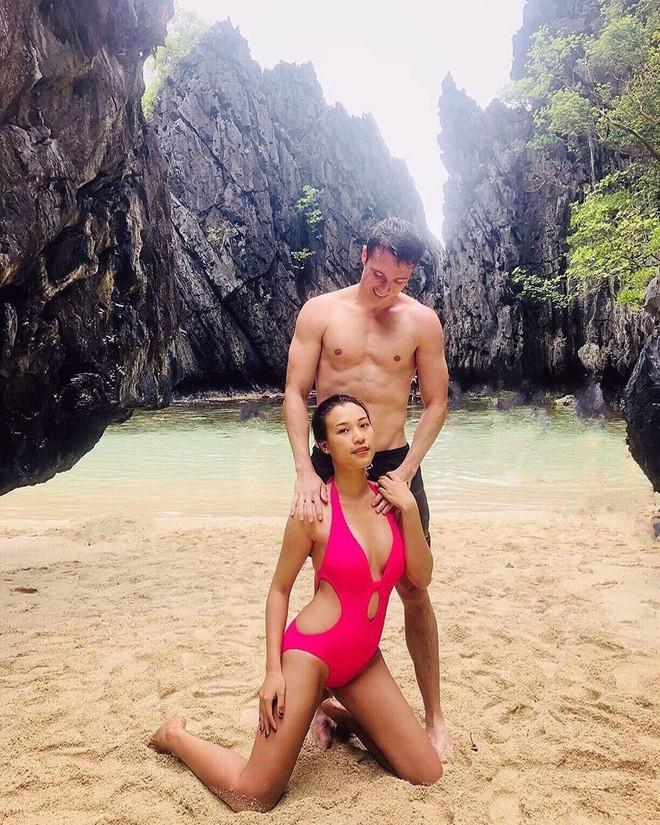 Những mỹ nhân Việt chăm diện bikini, rủ bạn trai cùng khoe body nóng bỏng - Ảnh 9.