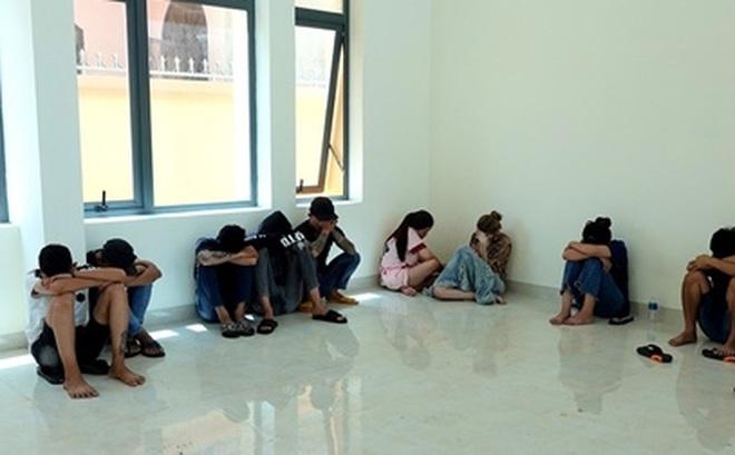 29 thanh niên thuê homestay để bay lắc