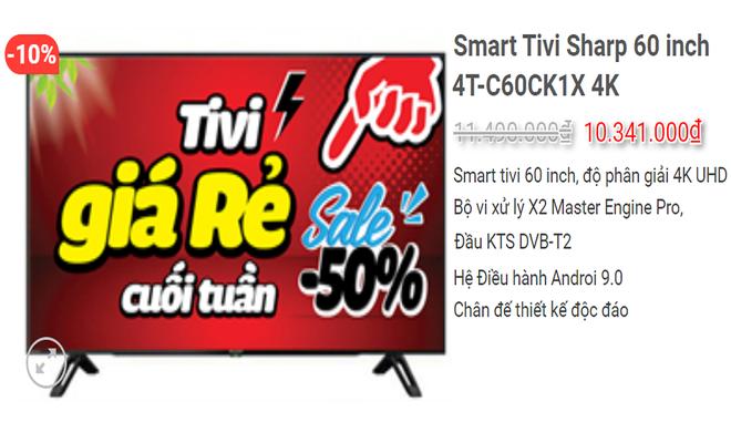 Tivi 4K màn hình lớn 50- 65 inch giảm giá sốc, có mẫu bay 10 triệu - Ảnh 2.