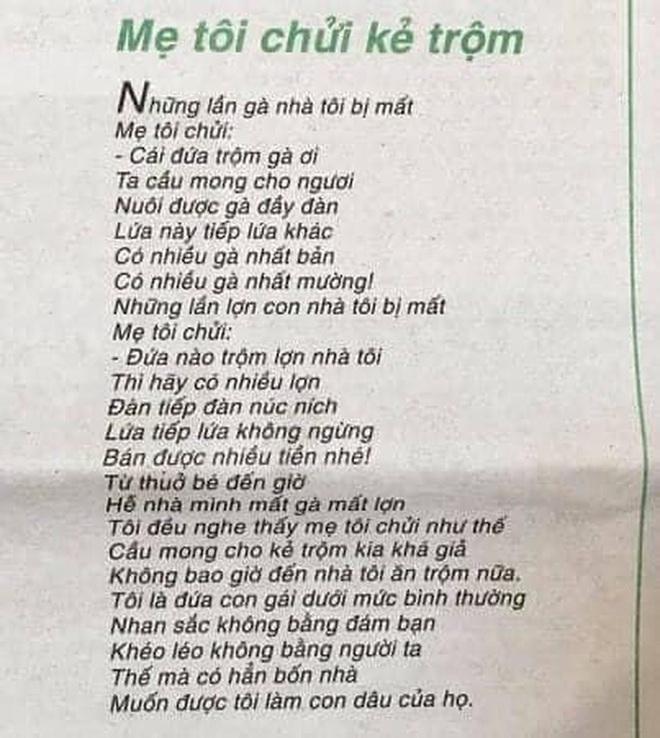 Nhà thơ Trần Đăng Khoa nói về nghi vấn đạo ý tưởng của Mẹ tôi chửi kẻ trộm - Ảnh 3.