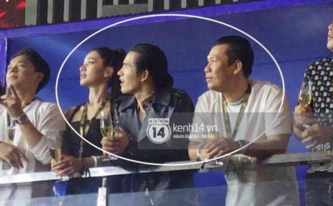 Clip chồng cũ Lệ Quyên và tình trẻ kém 27 tuổi Cẩm Đan sánh đôi ở concert Rap Việt, còn tương tác với nhau thế này đây