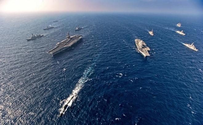 Lý do Ấn Độ phản đối chiến hạm Mỹ di chuyển qua lãnh hải