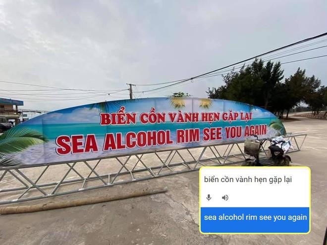 Tấm biển gây xôn xao nhất ngày hôm nay: Tai nạn vì Google dịch - Ảnh 1.