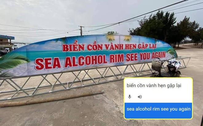"""Tấm biển gây xôn xao nhất ngày hôm nay: """"Tai nạn"""" vì Google dịch"""