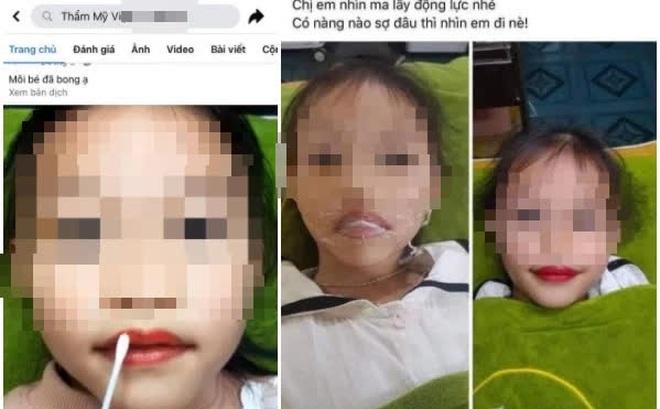 Quảng cáo xăm môi con gái 5 tuổi: Vô tình phạm luật, hệ lụy của tư tưởng coi con cái là tài sản