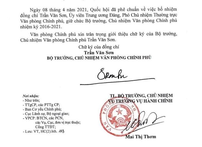 Giới thiệu chữ ký Thủ tướng Phạm Minh Chính và Phó Thủ tướng Lê Minh Khái, Lê Văn Thành - Ảnh 4.